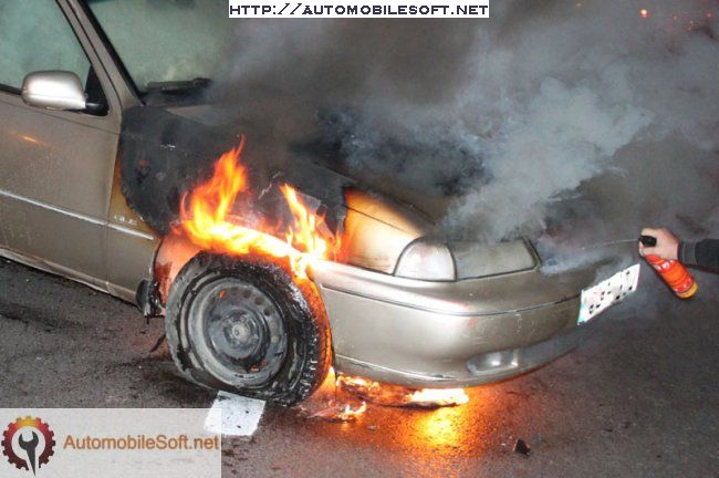 active auto fire extinguisher