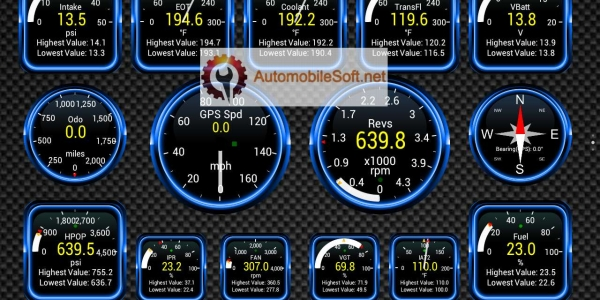Mobile Phone OBD Scanner