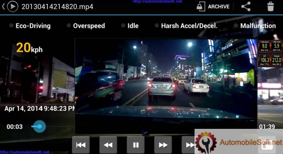 Automobile Cam Application
