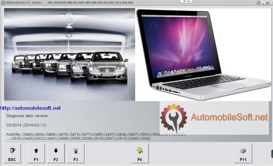 Mercedes-Benz Scan Tool