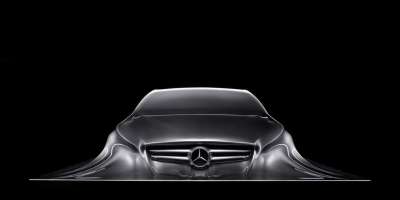 Beautiful Benz automobile
