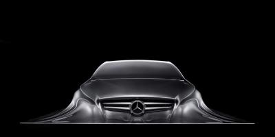 Beautiful Benz automobile
