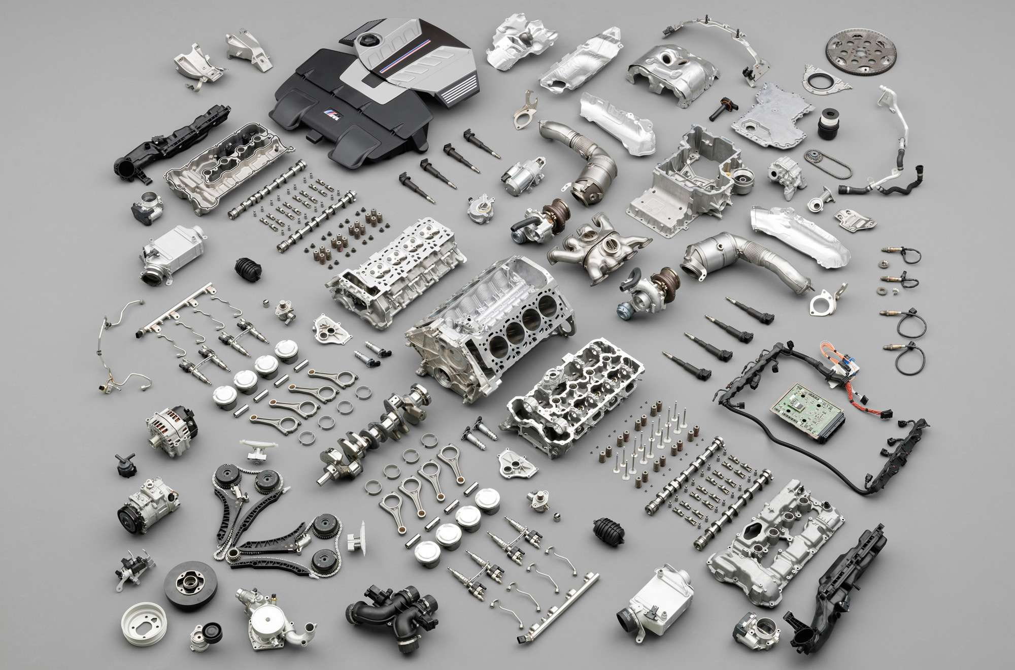 Basic Engine Parts | Component parts of internal combustion engines