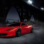 Ferrari 458 Italia designed by Pininfarina.