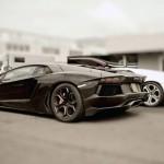 Lamborghini Aventador LP700 v12 engine and carbon fiber technology