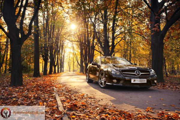 car autumn preparing
