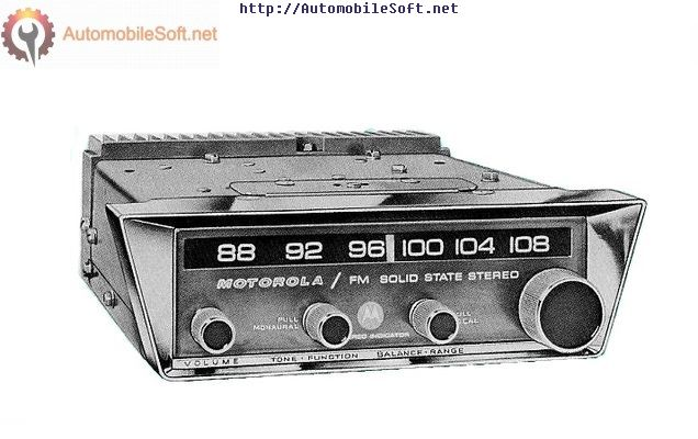 Radio Car Motorola