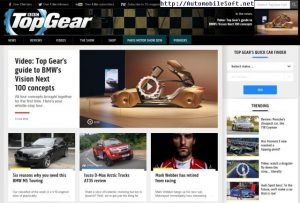 Top Gear site