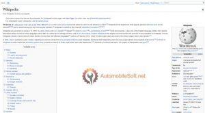 Wiki encyclopedia